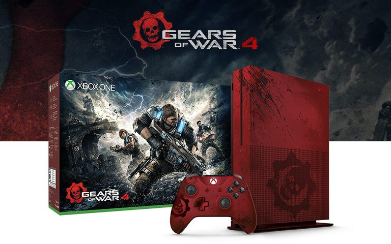 Xbox One S Gears of War 4 Limited Edition Bundle (2TB)