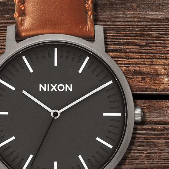 Nixon Porter Leather 40mm