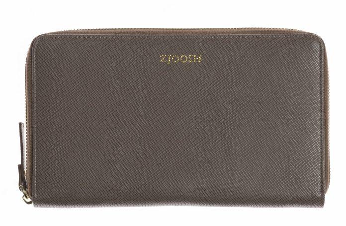 Zjoosh Mocha Travel Wallet