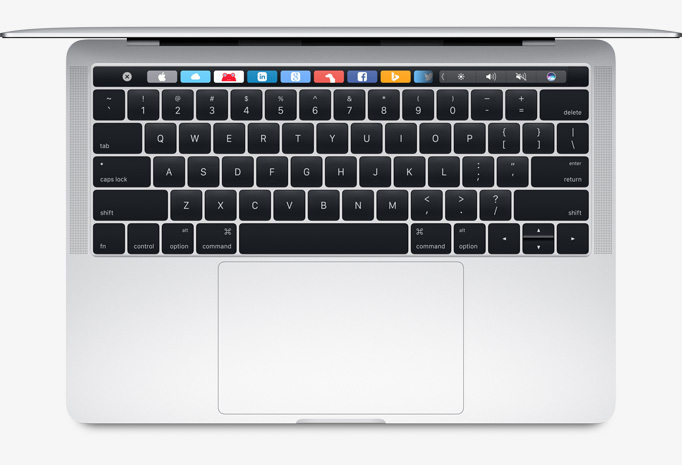 Touch Bar promises to give you tools you want when you need them.